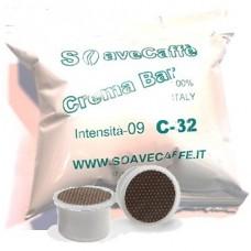 100 CAPSULE PER UNO* CAFFE' CREMA BAR INTENSITA' 09