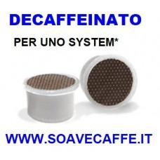 50 CAPSULE PER UNO* CAFFE' DECAFFEINATO.