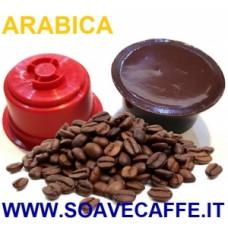 110 CAPSULE PER CAFFIT. CAFFE' ARABICA. INTENSITA' 12