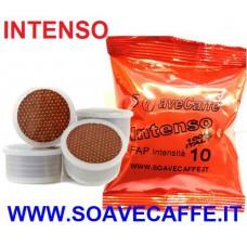 100 CAPSULE POINT/FAP CAFFE' INTENSO. INTENSITA' 10